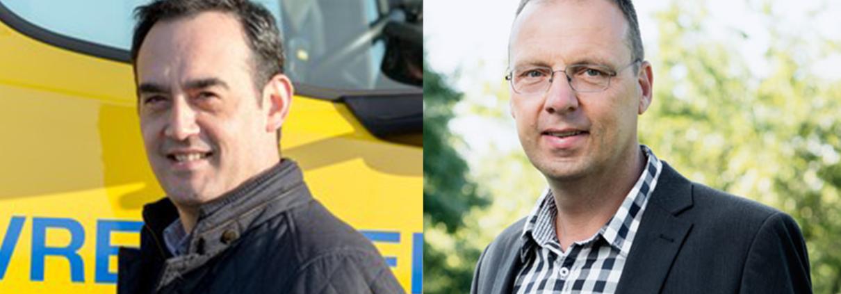Founder Chris Müller en Jan Vrij