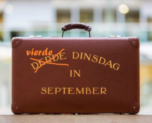 Masterclass: de vierde dinsdag in september. Over de troonrede.