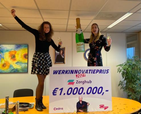 ZorgHub wint Werkinnovatieprijs